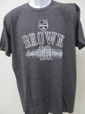 New LA Kings #23 Dustin Brown Mens Sizes L/XL Gray Shirt MSRP