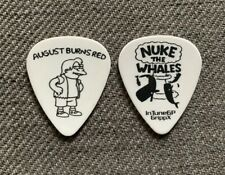 AUGUST BURNS RED Brent Rambler 2019 Tour Issue Simpsons Guitar Pick Plectrum