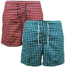 Karierte kurze Herren-Shorts & -Bermudas mit normaler Passform