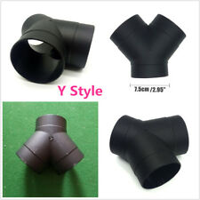 75mm Y Type Air Vent Pipe Outlet Exhaust Connector For Air Diesel Parking Heater
