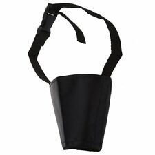Bozal Rejilla Nylon Regulable Negro para Perro Adiestramiento 8cm Talla 3 N2H5