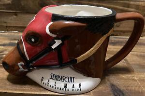 Seabiscuit Delmar Thoroughbred Club Ceramic Coffee Mug