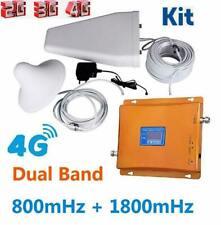 KIT AMPLIFICATORE RIPETITORE SEGNALE CELLULARE GSM DCS 4G