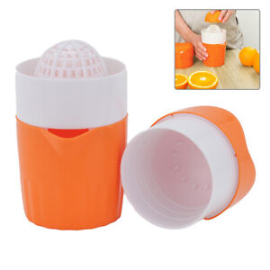 Plastic Manual Fruit Juicer Juice Maker Orange Lemon Hand Squeezer Machine UK