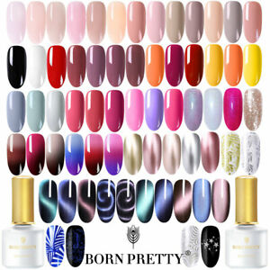 BORN PRETTY UV Gel Nail Polish Soak Off Nail Art Topcoat Base Coat Gel Varnish