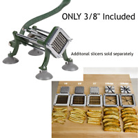 """Choice 3/8"""" French Fry Cutter with Suction Feet"""