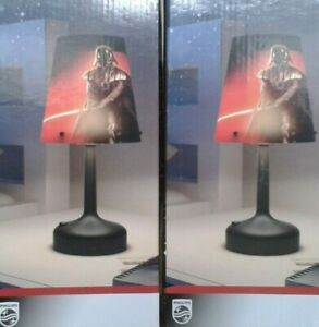 TABLE LAMPS,PAIR OF STAR WARS DARTH VADER LED PORTABLE TABLE LAMPS