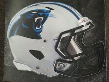 "CAROLINA PANTHERS HELMET NFL Fathead Wall Graphics 11"" x 9""  (Poster/Sticker)"