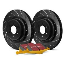 For Dodge Ram 3500 03-08 Brake Kit EBC Stage 5 Super Street Dimpled & Slotted