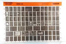 Grundig Service Mini 10 Verstärker Receiver Hifi Anlage Microfiche 1993 K217