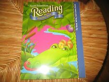 Scott Foresman Kindergarten Reading Practice Workbook