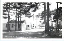 RPPC  WAKEFIELD, Massachusetts  MA  Roadside CAMP CURTIS GUILD  c1940s  Postcard