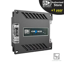 Banda Ice X 1202 RMS 2 Ohm Car Amplifier 1200w 1 Channel 3 Day Delivery