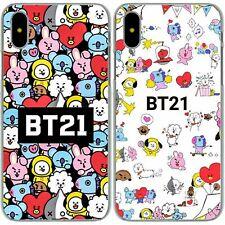 BTS BT21 Kpop Bangtan Boys hard case cover for phone models Huawei iPhone Galaxy