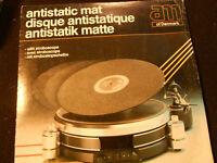 33 GIRI LP DISCO -ANTISTATC MAT DISQUE ANTISTATIQUE ANTISTATIK MATTE - VINTAGE