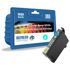 REFRESH CARTRIDGES CYAN 603XL INK COMPATIBLE WITH EPSON PRINTERS
