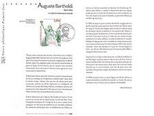 2004-  AUGUSTE  BARTHOLDI    - N° 3639  OBLITÉRÉ  PREMIER JOUR
