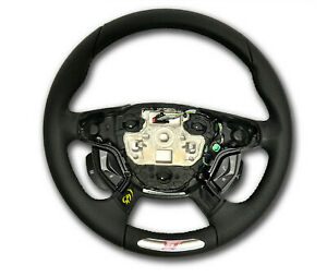 OEM NEW 2012-2013 Ford Focus ST Logo Steering Wheel - WITH SYNC Only- Leather