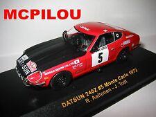 IXO RAC039 DATSUN 240Z N°5 MONTE CARLO 1972 TODT au 1/43°