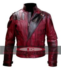 Guardians of the Galaxy Vol 2 Movie Star Lord High Quality Leather Jacket