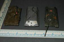 3 Zylmex Diecast Military Tanks
