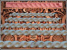 Stuck Profile Kautschuk Negativform Gießform Gips Relief Deckenverzierung (54)
