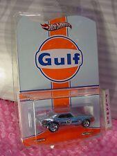 htf RLC Hot Wheels Redline Club Gulf  '67 CAMARO☆Blue;Real Riders☆low #0295/4500