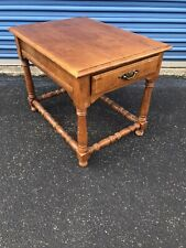 Tell City Chair Company Solid Hard Rock Maple #50 Finish End Table