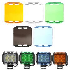 Work Spot Fog Flood Light Bar Lens Cover 4 Inch 18W LED Off-road SUV ATV Boat