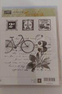 Retired Stampin Up Stamp Set - Postage Due