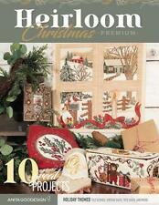 Heirloom Christmas Anita Goodesign Premium Collection Embroidery Designs CD