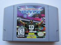 *GOOD* NFL Blitz Nintendo 64 N64 Video Game Retro Arcade Super Fun Football Kid