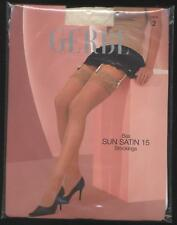 GERBE BAS SUN SATIN 15 IVOIRE TAILLE 2 DENTELLE MARIAGE SOIREE STOCKINGS  sexy bcebd07dacf