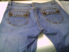 Womens MICHAEL KORS STRETCH CLASSIC blue denim jeans Size 6P (31 x 30 1/4