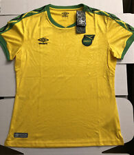 Jamaica Football Federation soccer jersey WOMEN'S SZ XL  New with tags Umbro🔥