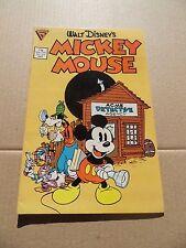 Walt Disney's Mickey Mouse 219 . 1st Gladstone - Gladstone 1986 - VF - minus