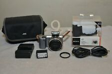 Sony Alpha NEX-5T (Silver) w/E PZ OSS 16-50mm Lens +Two Cases__Only 818 Clicks!!