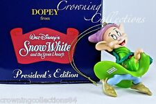 Grolier Dopey President's Edition Ornament Disney Snow White and the 7 Dwarfs &