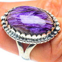 Charoite 925 Sterling Silver Ring Size 7 Ana Co Jewelry R58725F