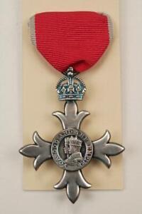Mbe Knighthood Medalla Orden De la Británica Empire Chivalry Civil Honor