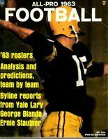 1963 All Pro Football magazine, Bart Starr, Green Bay Packers ~ Good
