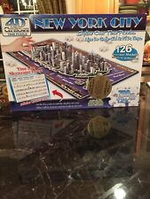"""NEW New York City 4D Cityscape Puzzle """"History Over Time"""" 700+ Pcs Factory Seal"""