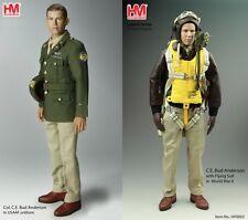 Figurine Aviateur Pilote Avion Seconde Guerre Mondiale Colonel Anderson 30 cm