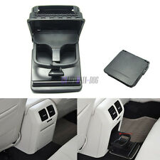 OE Black Central Armrest Rear Cup Holder  for VW Golf MK6 Jetta MK5 EOS