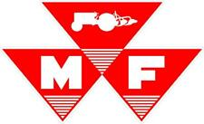 "#2274 (1) 3.5"" Massey Ferguson Seat Decal Tractor Decal Sticker LAMINATED MF"