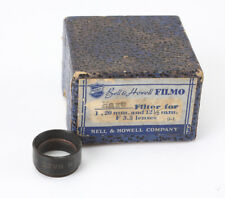 BELL & HOWELL HAZE FILTER FOR FILMO 20/3.5 7 & 12.5/3.5, ABOUT 15MM/193974
