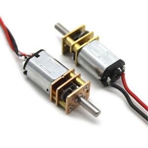 Steel Gear N20 Mini Micro Precision DC Geared Motor D-Axis Speed Reduction Motor
