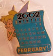 DISNEY STORE 12 MONTHS OF MAGIC CALENDAR SERIES - FEBRUARY 2002 TINKERBELL