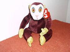 """""""Ty"""" Beanie Babies."""" Zodiac.Monkey."""" No D.O.B. .Retired.#263"""