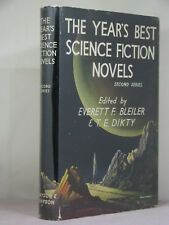 1st UK,signed by Frank Robinson,Years Best SF Novels 2,ed by E F Bleiler,T Dikty